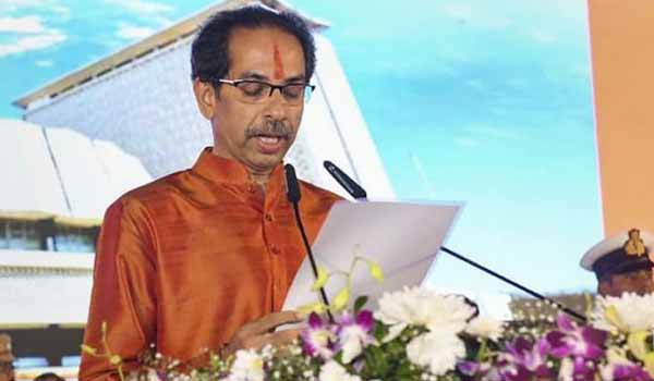 Uddhav Thackeray pledge as 19th Chief Minister of Maharashtra