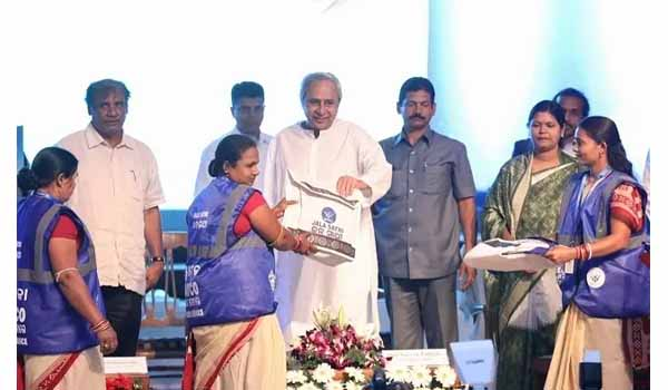 CM Naveen Patnaik launches 'JalSathi' programme and 'JalSathi' App