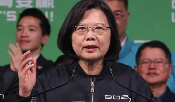Tsai Ing-wen wins Presidential election of Taiwan with 57.1% of Votes