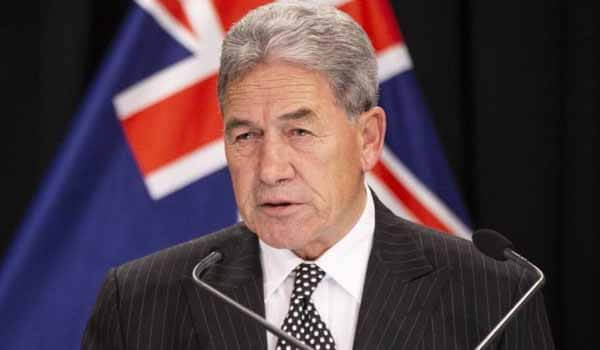 Winston Peters arrives on 4-day India visit