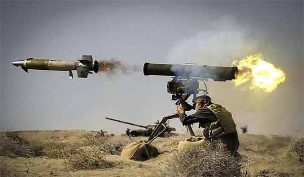 Indian Army inducted Anti-Tank Guided Missile 'Spike' in J&K