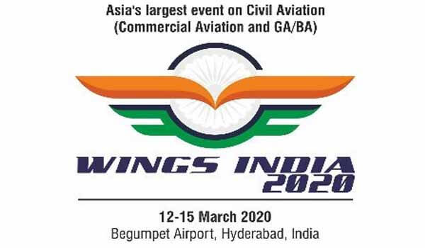 2020 Wings India event launched at Begumpet Airport in Hyderabad