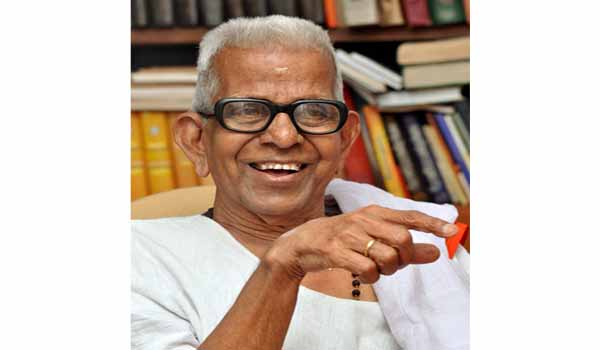 Renowned poet Akkitham awarded Jnanpith Award for 2019