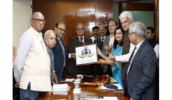P. C. Ghose launches new 'Logo & Motto' of Lokpal