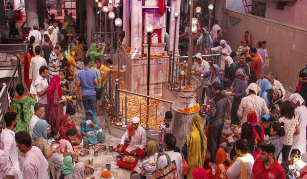 Annually Mela Kheer Bhawani celebrated in J&K