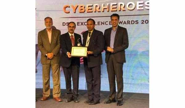 B. P. Raju honored with India Cyber Cop of the Year award