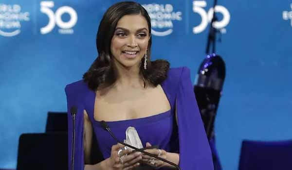 Noted actress Deepika Padukone wins Crystal Award for the year 2020