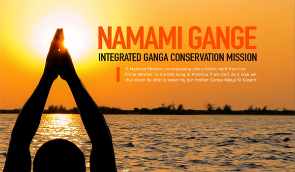 Corporates undertake Namami Gange Projects as part of their CSR activity