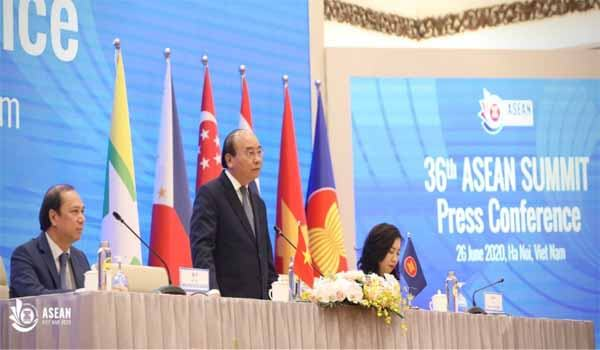 36th Edition of ASEAN Summit held in Hanoi, Vietnam