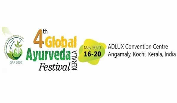 4th Global Ayurveda Festival (GAF-2020) will be held in Kochi