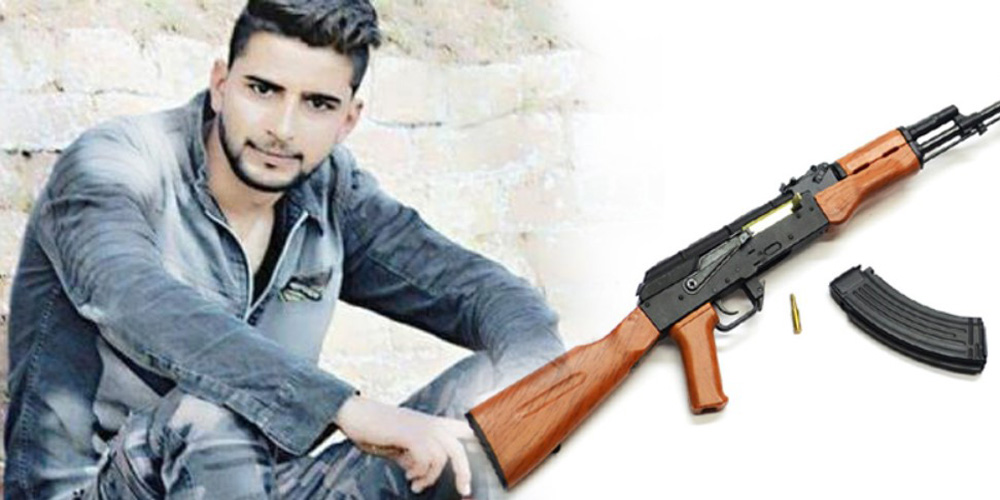 From Pulwama, Taking AK-47 Missing SPO on the Track of Terror
