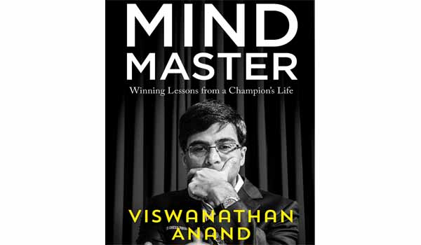 Chess Grandmaster Viswanathan Anand launched his autobiography named 'Mind Master'