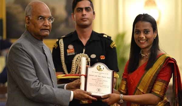 President Kovind presents 61st Lalit Kala Akademi Awards at Rashtrapati Bhavan