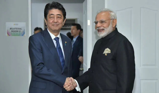 PM Narendra Modi on a 2-day visit to Japan from 28 October
