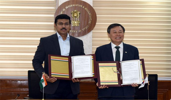 India-South Korea inked MoU on Sports Cooperation