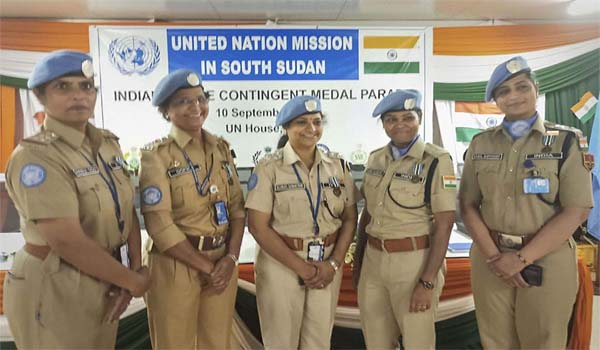 UN awarded 5 Indian Women Police officers in South Sudan