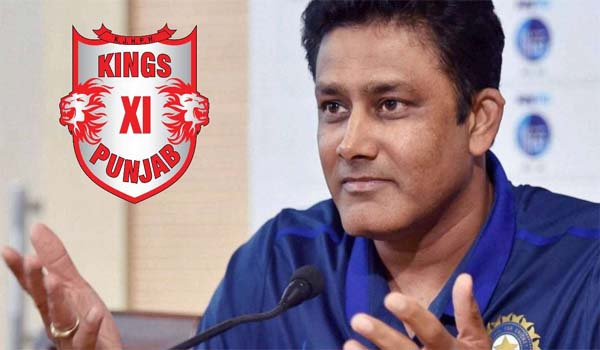 Anil Kumble selected as Coach of Kings XI Punjab