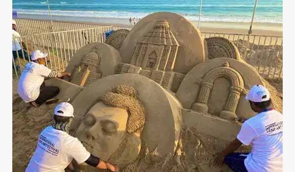 9th International Sand Art Festival began