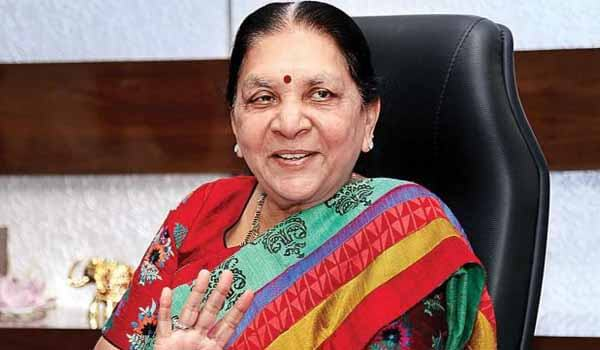Anandiben Patel Handled Additional Charge of Governor of MP