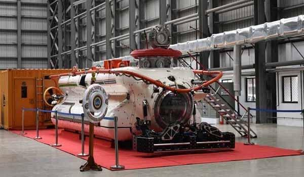 Atul Kumar Jain inaugurated Deep Submergence Rescue Vehicle Complex