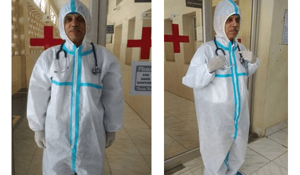 CSIR National Aerospace Laboratory developed Personal Protective Coverall Suit against COVID-19