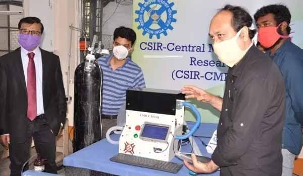 CSIR-CMERI Developed New COVID-19 Ventilator
