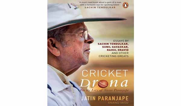 Cricket Drona - For the Love of Vasoo Paranjape book released