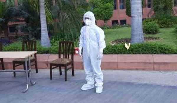 DRDO developed Bio-suit to keep Medical personnel safe