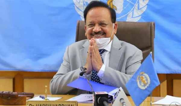 Dr. Harsh Vardhan - New Chairman of the WHO Executive Board