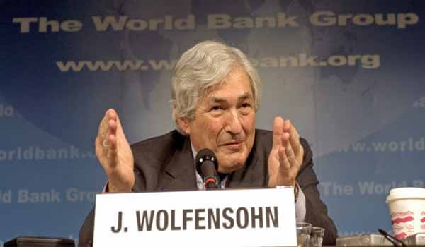 Former World Bank President James Wolfensohn passed away