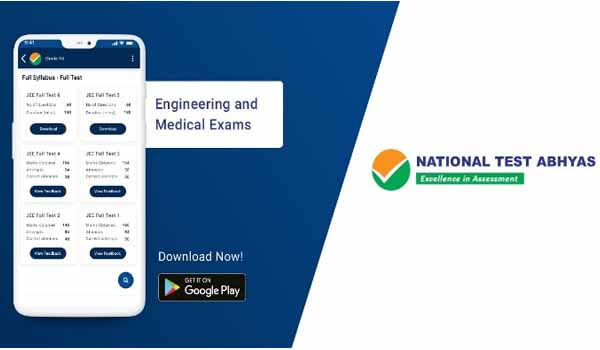 GoI launched National Test Abhyas mobile app for JEE & NEET Exam