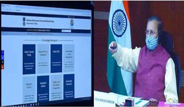 India Climate Change Knowledge Portal launched