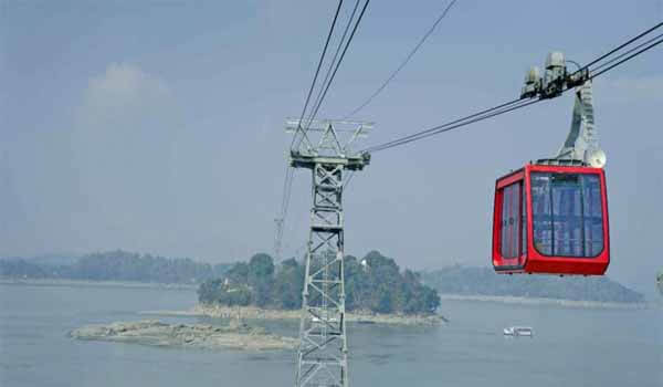 India's longest river ropeway inaugurated over Brahmaputra river