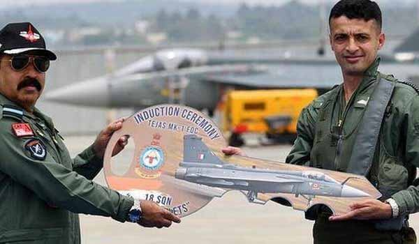 Indian Air Force inducted Tejas MK-1 FOC aircraft