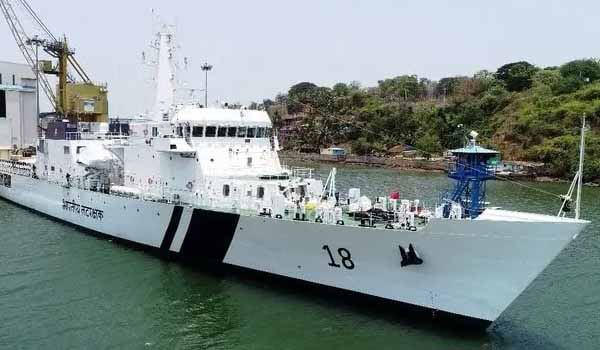 Indian Coast Guard Ship 'Sachet' commissioned today
