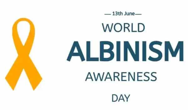 International Albinism Awareness Day celebrated on 13th June Each year
