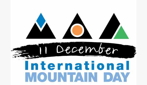 International Mountain Day celebrated on 11th December Each year