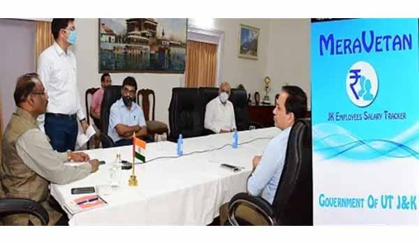 Lt Governor of J&K launched 'Mera-Vetan' mobile app