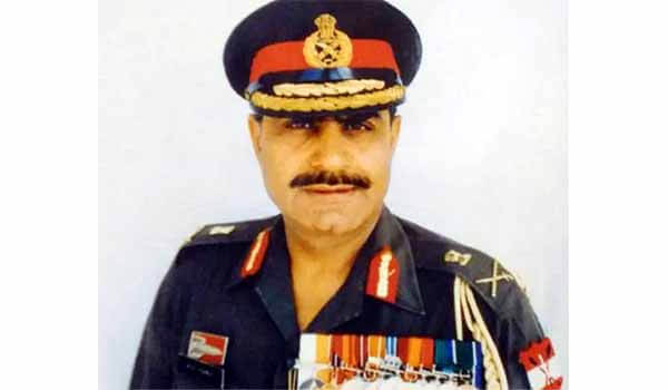 Lt. General Raj Mohan Vohra passed away due to COVID-19