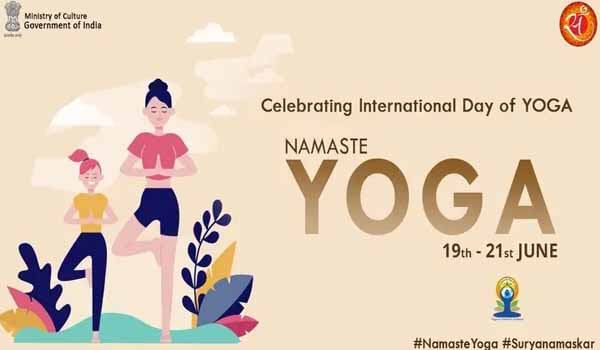 Namaste Yoga Campaign Launched today