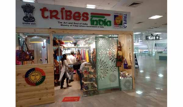 New Tribes India Outlet opened at Prayagraj Airport