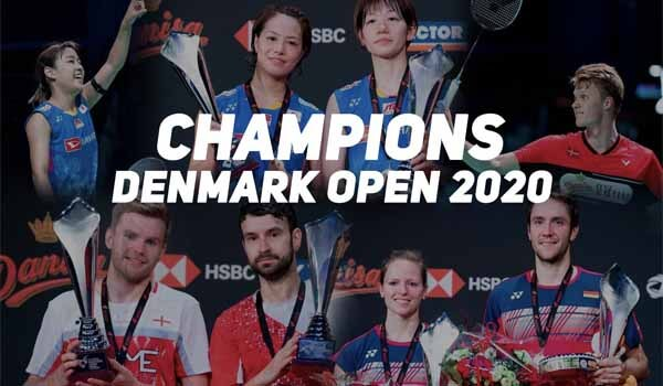 Nozomi Okuhara & Anders Antonsen clinches Women's & Men's Singles title at Denmark Open