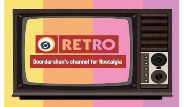 Prasar Bharati launched a new channel 'DD Retro'