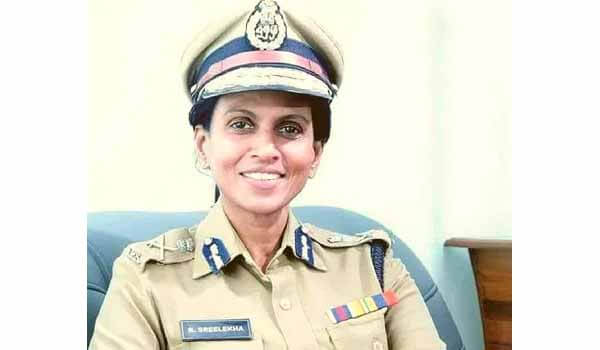 R. Sreelekha - New Director General of Police (DGP) of Kerala