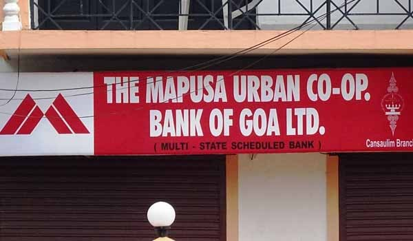 RBI cancels Licence of Mapusa Urban Co-operative Bank of Goa Limited