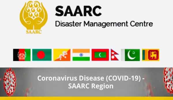 SAARC DMC launched Coronavirus website www.covid19-sdmc.org today ...