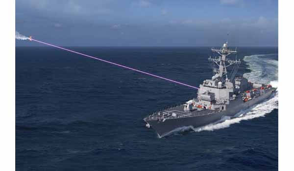 US Navy successfully test-fired Laser Weapon