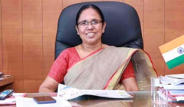 United Nations honored K. K. Shailaja - Health Minister Of Kerala