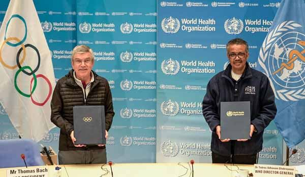 WHO & International Olympic Committee join-hands to Promote Healthy Living through Sports