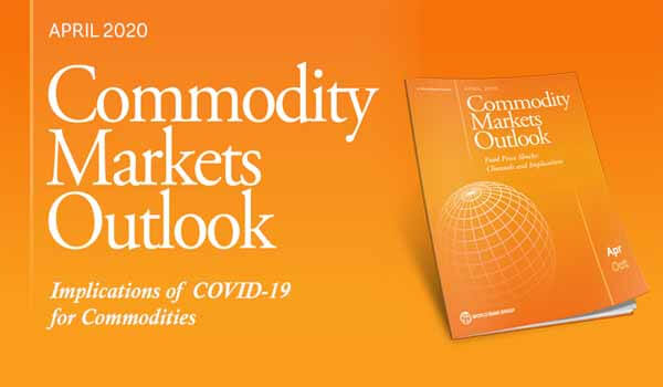 World Bank released Commodity Market Outlook April 2020